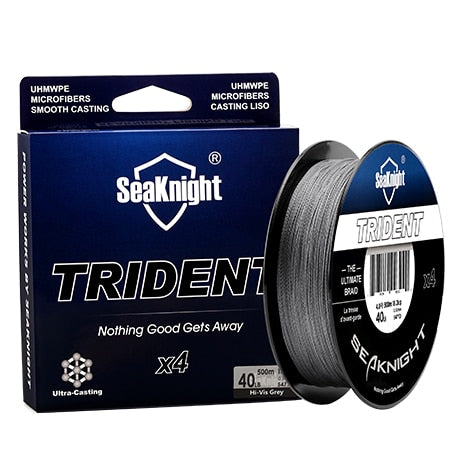 SeaKnigt 4 Strand Braided Wire 500m 8LB Fishing Line