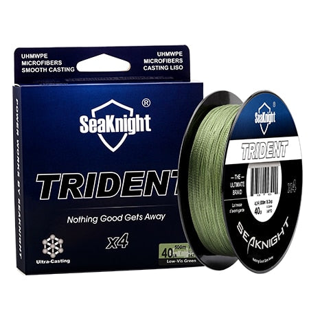 SeaKnigt 4 Strand Braided Wire 500m 35LB Fishing Line