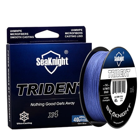 SeaKnigt 4 Strand Braided Wire 500m 25LB Fishing Line