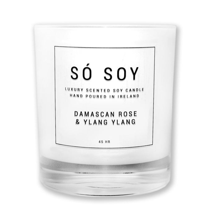 Damascan Rose and Ylang Ylang - Large Candle