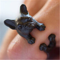 French Bulldog Ring - Elegant Shoppers