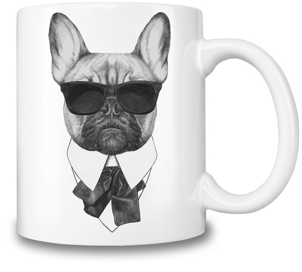 French Bulldog Coffee Mug - Elegant Shoppers