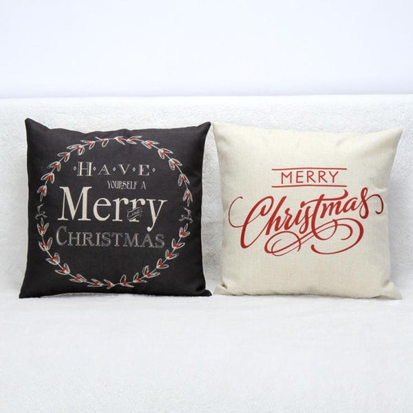 Christmas Pillow Cases - Elegant Shoppers