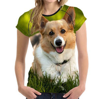 Corgi T-Shirt - Elegant Shoppers