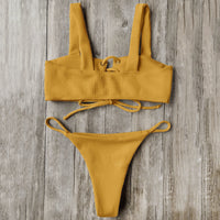 Low Waist Brazilian Bathing Suit - Elegant Shoppers
