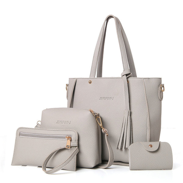 Luxurious Bag Set - Elegant Shoppers