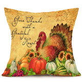 Happy Fall | Happy Thanksgiving Pillow Cases - Elegant Shoppers