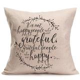 Happy Fall Thanksgiving Day Pillow Cases