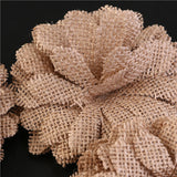 Hessian Burlap Christmas Daisy Flowers - Elegant Shoppers