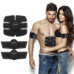 Abdominal machine electric muscle stimulator ABS ems Trainer fitness Weight loss Body slimming Massage with box - Elegant Shoppers