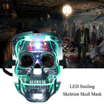 Light Up LED Skeleton Skull Rave Mask - Elegant Shoppers