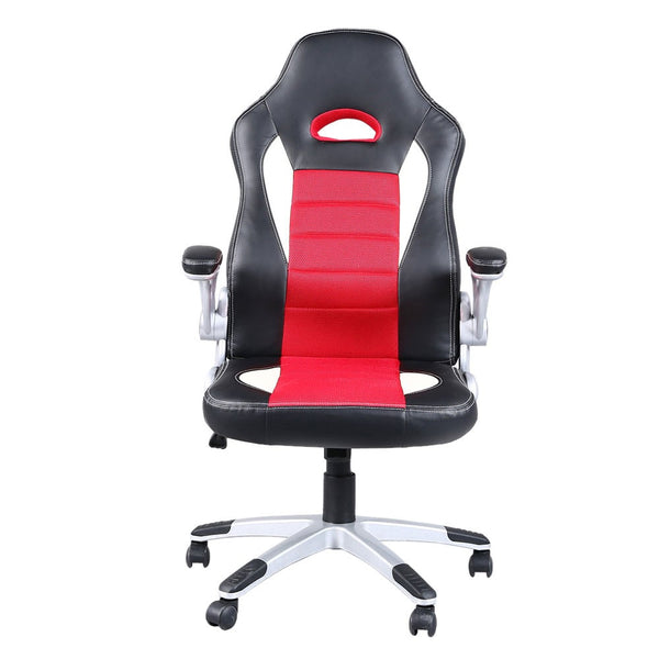 High-Back Computer Gaming Chair Swivel Racing Gaming Chair for Home Office - Elegant Shoppers