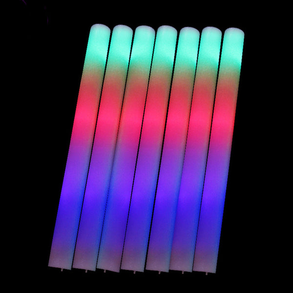 Light Up LED Foam Wand Glow Sticks - Elegant Shoppers