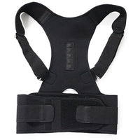New Magnetic Posture Corrector Neoprene Back Corset Brace Straightener Shoulder Back Belt Spine Support Belt - Elegant Shoppers