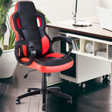 Gaming Chair Executive Office Chair Racing Style Swivel Computer Chair - Elegant Shoppers