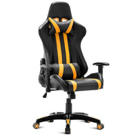 Costway Executive Racing Style High Back Reclining Chair Gaming Chair Office Computer - Elegant Shoppers