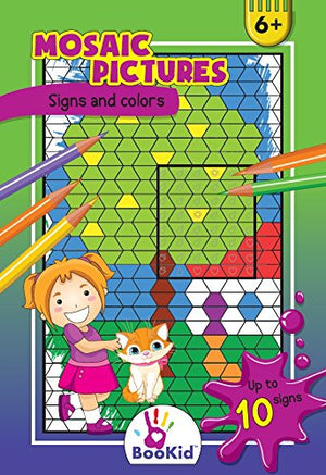 Activity Books For Kids Age 6-7 - Pack of 3 Includes Numbers 1-150, 12 Numbers and Colors, Fun with Numbers 1-12, 10 Signs and Colors