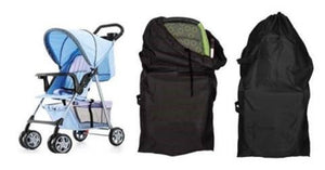 Double Umbrella Stroller Travel Bag with Gate Check Design
