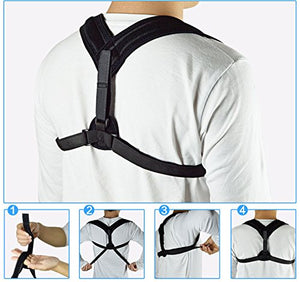 SeaNoyA Back and Spine Posture Corrector Support Brace