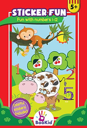 Activity Books For Kids Age 5-6 Pack of 3 - Includes It's Fun to Draw Using Symbols, Numbers 1-75, Fun with Numbers 1-12
