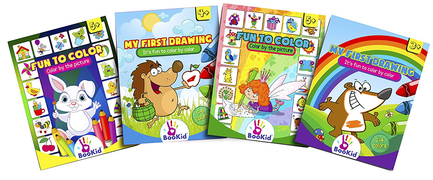 Activity Books For Kids Age 3-5 - Pack of 4 Includes It\'s Fun to ...