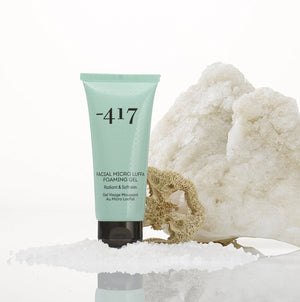 -417 Dead Sea Cosmetics Facial Micro Luffa Foaming Gel