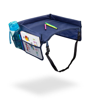 Kids Snack & Play Travel Tray (Blue)