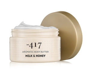 -417 Dead Sea Cosmetics Aromatic Body Butter - Milk & Honey