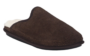 Aski Slippers- Gil Cozy, Super Comfy Slippers For Men - Faux Fur with Memory Foam Cushioning Footwear