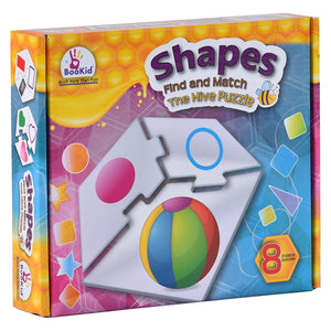 Find and Match Toddlers Puzzle Games - Shapes. For 3+ Years Old