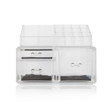 Clear Cosmetic Makeup and Jewelry Organizer(3 Drawers)