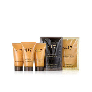 -417 Dead Sea Cosmetics Hand Moisturizer + Foot Nourishing Cream + Aromatic Body Butter + Mud Body Mask + Mineral Salt Bath