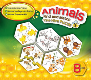 Find and Match Toddlers Puzzle Games - Animals? For 2.5+ Years Old