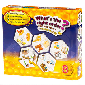 Find and Match Toddlers Puzzle Games - What's the Right Order. For 5+ Years Old