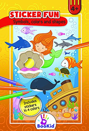 Children's Activity books for Age 3+ include find the difference, Star 2 Star, Coloring and stickers - Medium Size (8.7 x 5.9 inches)- Pack of 4