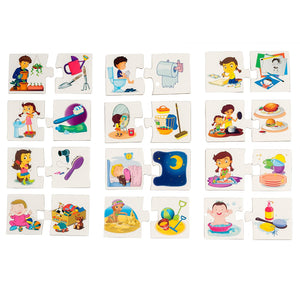 Make A Match Baby Puzzle Games - Daily Activities. For 2.5+ Years Old by BooKid Toys