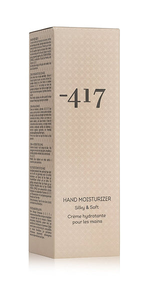 Hand Moisturizer From -417 Dead Sea Cosmetics Collection