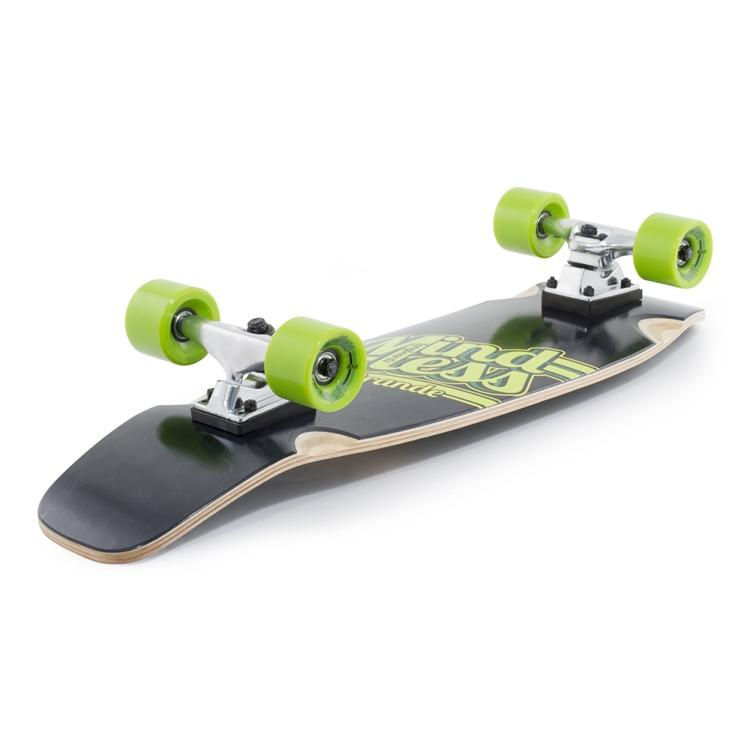 Mindless Longboards Daily Grande Black - TVSC