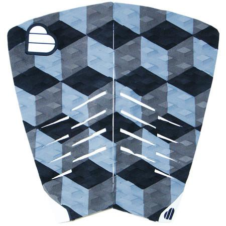 Beyond Twinnie 2 Piece Tail Pad Black/Blue - TVSC