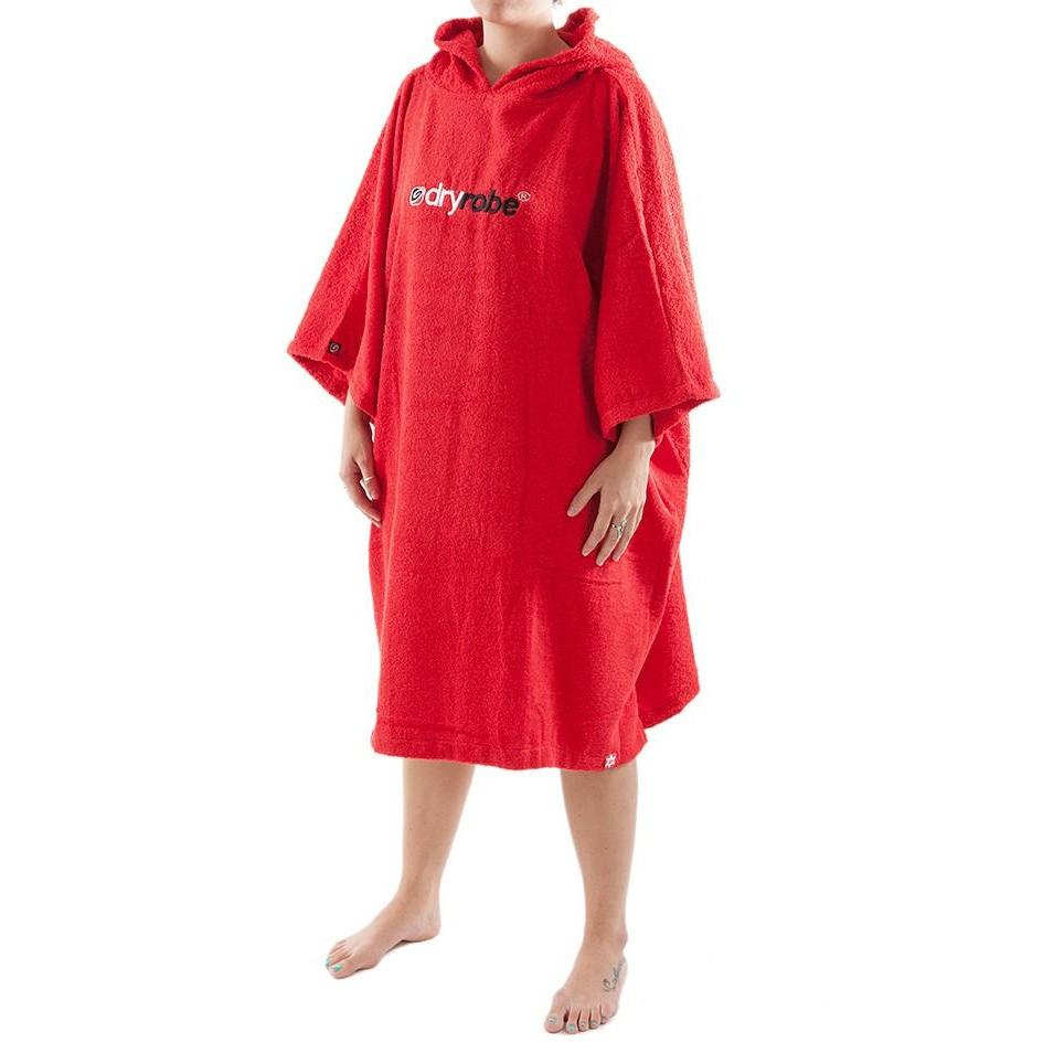 Women's Towel DryRobe Red Medium