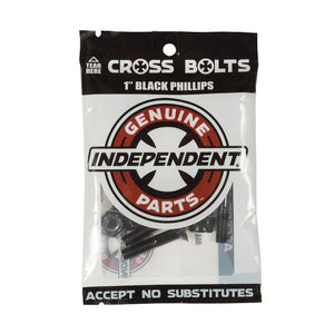 "Independent 1 Inch Phillips Bolts Black | 1"" - TVSC"
