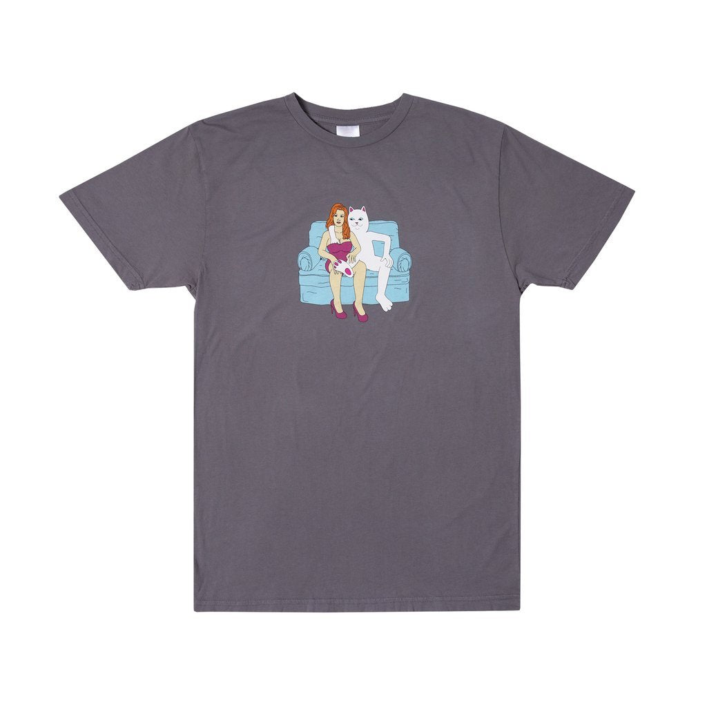 Rip N Dip Womens Inside Activities T-Shirt | Grey