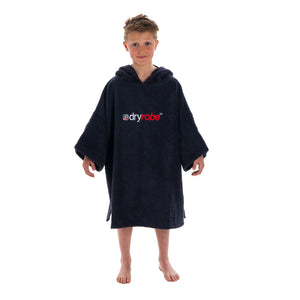 Dryrobe Kids Towel Robe Size Small | Navy Blue