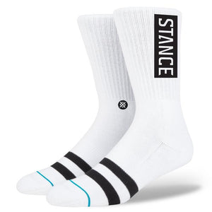 Stance Socks OG Pair | White