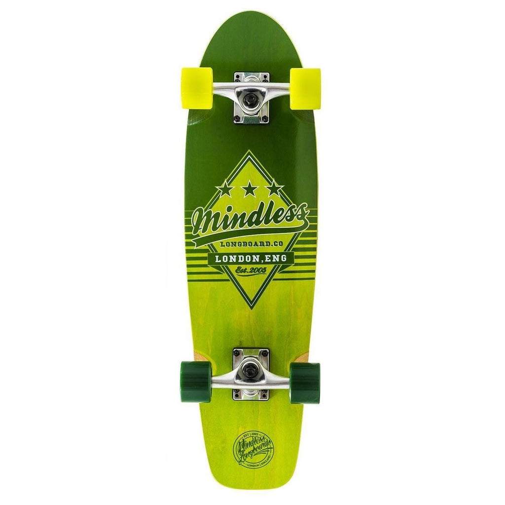 Mindless Longboards Daily Grande II Green - TVSC