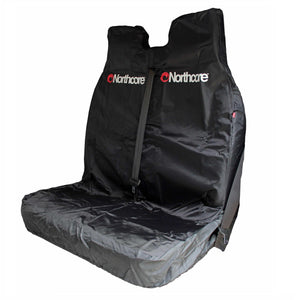 Northcore Waterproof Car Seat Cover Double Black - TVSC