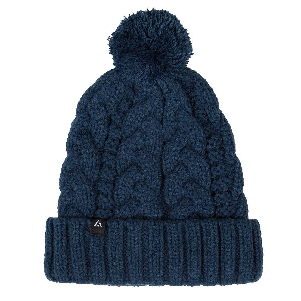 Mack Bobble Beanie Blue