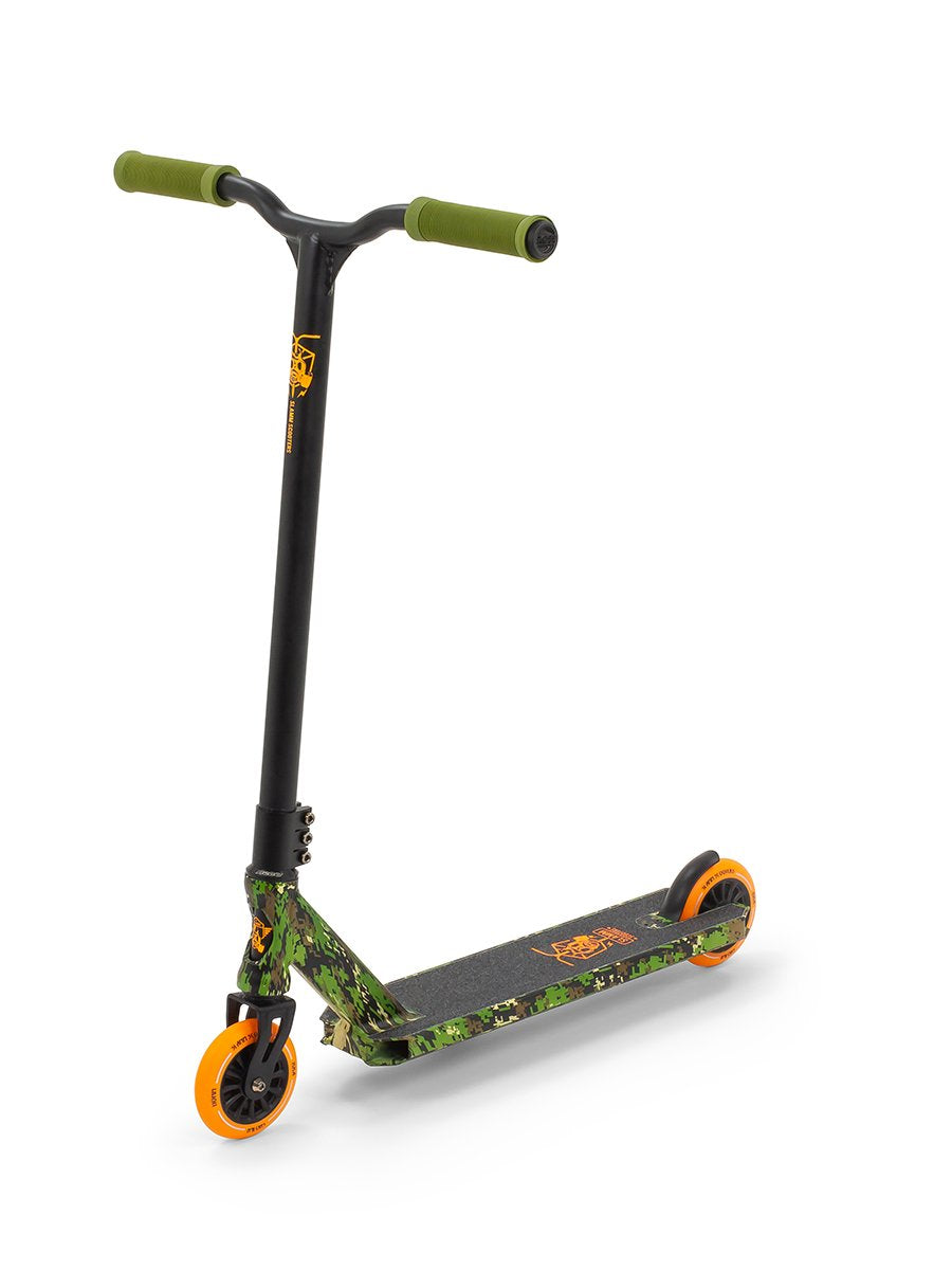 Slamm Mischief IV Wrap Complete Scooter | Camo Stunt Performance Scooter