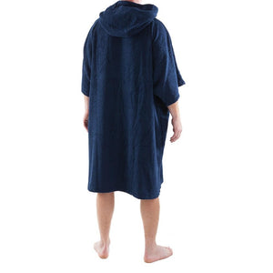 Dryrobe Towel Short Sleeve Robe Navy TVSC 1