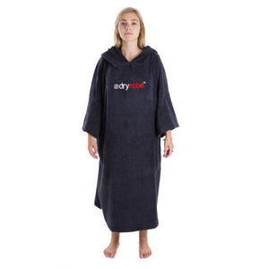 Womens Dryrobe Towel Changing Robe Navy | Large